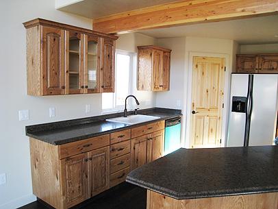 Cwc Construction Amp Custom Cabinets Malad City Idaho 83252 Photo Gallery Knotty Oak